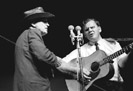 Bill Monroe and Doc Watson