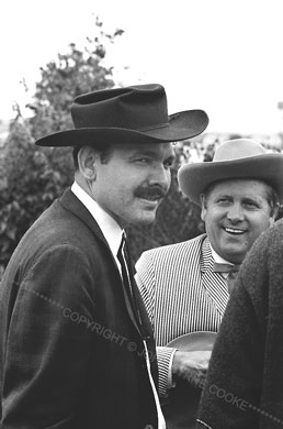 Tex Logan and Everett Lilly