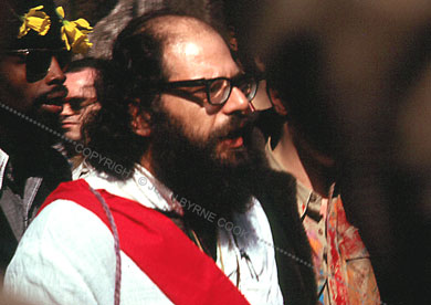 Allen Ginsberg at the Easter Be-In