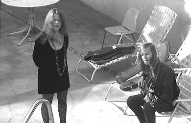 Janis and Sam rehearsing