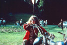 Janis Joplin on motorcycle